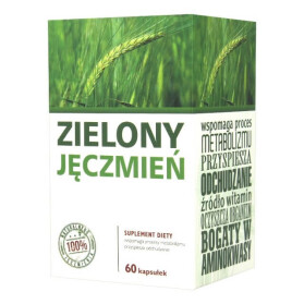 zielony jeczmien w tabletkach